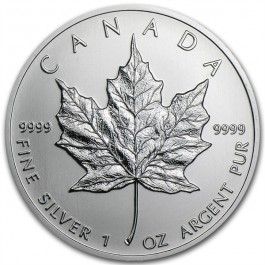 Canadian Silver Maple 1 oz (Random Year)