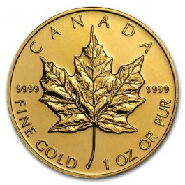 Canadian Gold Maple 1 oz (Random Year)
