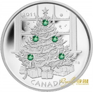 Canadian Silver Christmas Tree 1 oz_3349