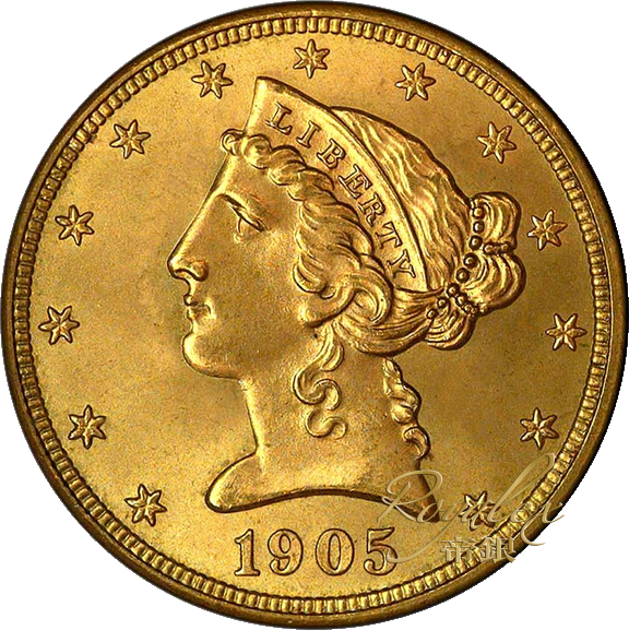 Us Liberty Gold Half Eagle 5 Royalexsilver
