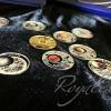 白俄羅斯太陽系統銀幣九枚套裝_4437