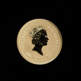 澳洲1996鼠年生肖金幣1盎司