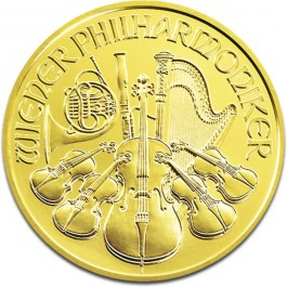 Vienna Gold Philharmonic 1 oz (Random Year)