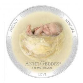 紐埃2013安妮格迪斯-愛精鑄銀幣1盎司