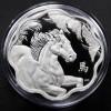 加拿大2014梅花馬年銀幣0.86盎司_25649