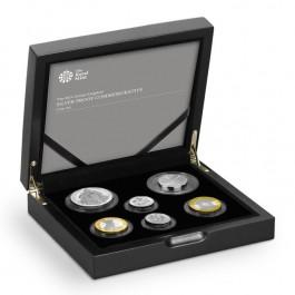 英國2014紀念精鑄銀幣6枚套裝