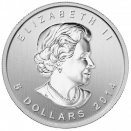 Canadian 2014 FIVE BLESSINGS Silver 1 oz