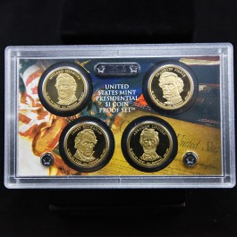Presidential $ 1 Coin Proof Set 2010