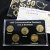 美國50州份鍍金套裝1999年_17005