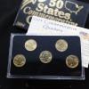 美國50州份鍍金套裝2004年_17145
