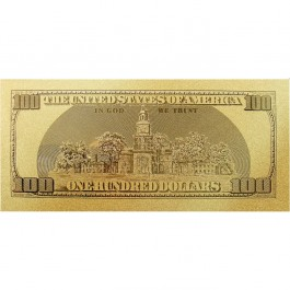 United State USD100 Gold Note (WITH BOX)