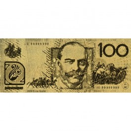 Australian AUD100 Gold Note(WITH BOX)