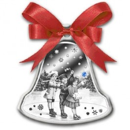 Niue 2012 Christmas Bell Proof Silver 1 oz