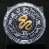 英屬處女島2013蛇年鍍金銀幣5盎司_20631