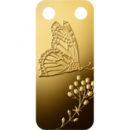 Pamp Butterfly Gold Bar 1/5 oz