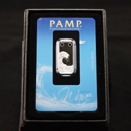Pamp Wave Silver Bar 1/5 oz