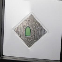 紐埃2014藝術改變世界系列 - 哥德式藝術精鑄 銀幣0.9盎司