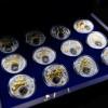 白俄羅斯2013十二星座全套12枚鍍金銀絲精鑄銀幣_24070