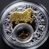 白俄羅斯2013十二星座全套12枚鍍金銀絲精鑄銀幣_24064