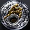 白俄羅斯2013十二星座全套12枚鍍金銀絲精鑄銀幣_24044