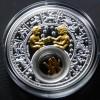 白俄羅斯2013十二星座全套12枚鍍金銀絲精鑄銀幣_24060