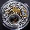 白俄羅斯2013十二星座全套12枚鍍金銀絲精鑄銀幣_24050