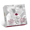 加拿大2014首次皇家出訪75周年精鑄銀幣1盎司_25562