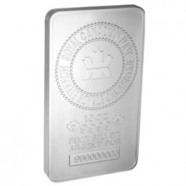Canada RCM Minted Silver Bar 10 oz