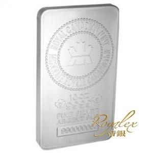 加拿大皇家鑄幣廠壓印銀塊10盎司_24011