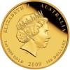 澳洲2009牛年生肖金幣1盎司_25887