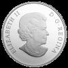 加拿大2014紅紫色斑點蝴蝶銀幣1盎司_27242