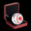 加拿大2014五福臨門彩色精鑄銀幣 1oz_27361