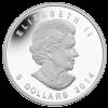 加拿大2014五福臨門彩色精鑄銀幣 1oz_27359