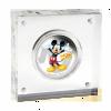 紐埃2014迪士尼米奇與好友系列 - 米奇彩色精鑄銀幣1盎司_27598