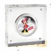 紐埃2014迪士尼米奇與好友系列 - 米妮彩色精鑄銀幣1盎司_27604
