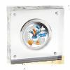 紐埃2014迪士尼米奇與好友系列 - 唐老鴨彩色精鑄銀幣1盎司_27610