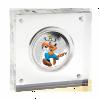 紐埃2014迪士尼米奇與好友系列 - 高飛彩色精鑄銀幣1盎司_27622