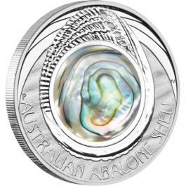 澳洲2014鮑魚之貝殼精鑄銀幣1盎司