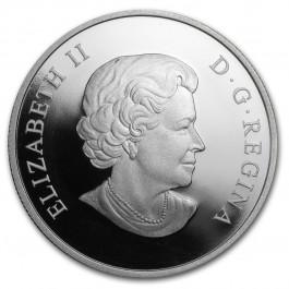加拿大2015 夜光系列 - 星圖(受傷的熊) 精鑄銀幣1盎司