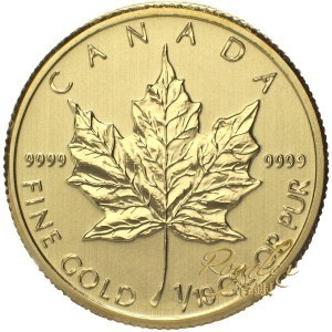 Canada 2014 Gold Maple 1/10 oz_28213