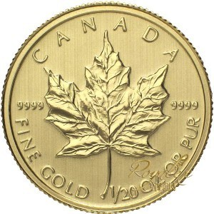 Canada 2014 Gold Maple 1/20 oz_28221