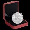 加拿大2014白尾鹿親子精鑄銀幣1盎司        _28457