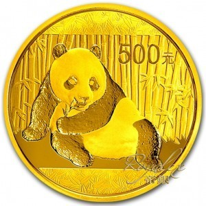 China 2015 Gold Panda 1 oz_28536