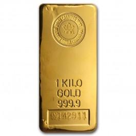 加拿大皇家鑄幣局投資金條1公斤