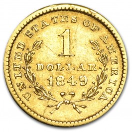 America Liberty Head Gold $1 (Type I)