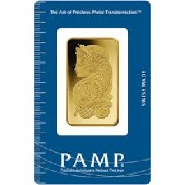 Pamp Suisse Gold Bar 1 oz