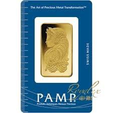 瑞士PAMP命運女神金塊1盎司_31212