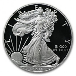 American 1986-2011 Proof Silver Eagle Set