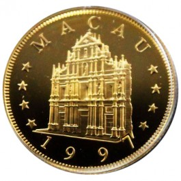 Macau 1997 Ox Gold Set