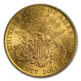 America 1895 Liberty Gold Double Eagle $20 1 oz